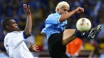 Darío Silva jugó el Mundial 2002 con Uruguay, que compartió grupo con Francia, Dinamarca y Senegal (NA)