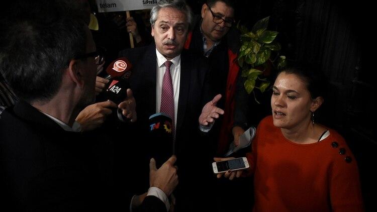 Fernández es su propio jefe de campaña y unificará equipos con sus aliados (Nicolás Stulberg)