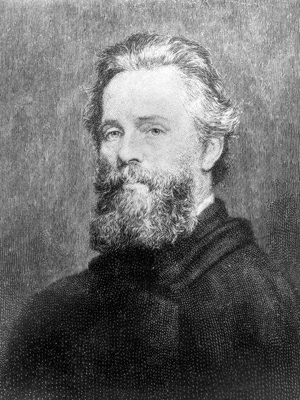 Herman Melville, autor de Moby Dick (Shutterstock)
