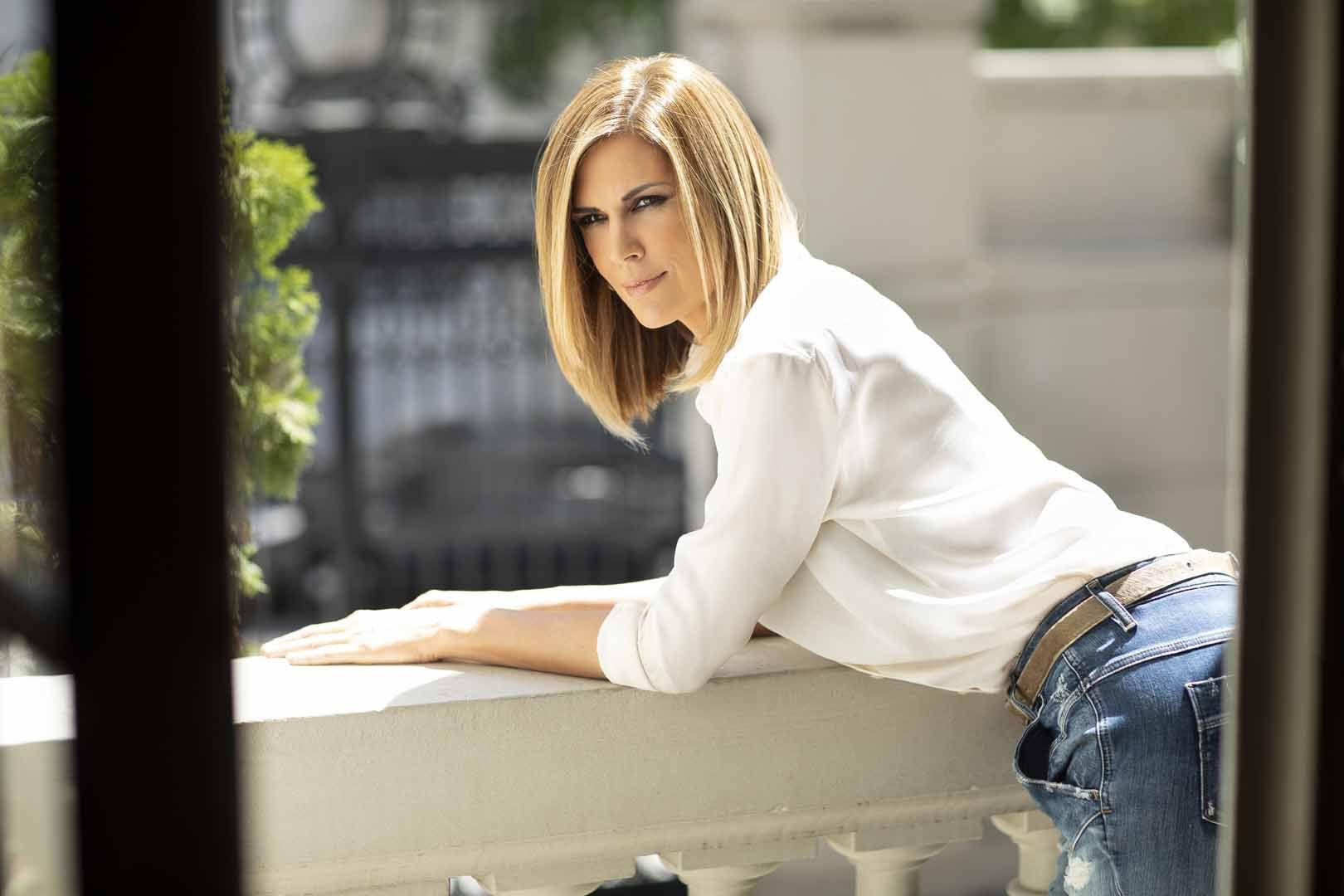 Viviana Canosa con look renovado: el pelo más corto y rubio