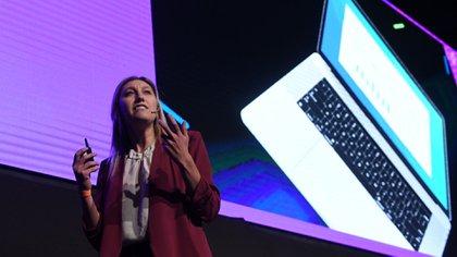 Agustina Fainguersch, cofundadora y CEO de Wolox contó su experiencia en Silicon Valley (Maximiliano Luna)