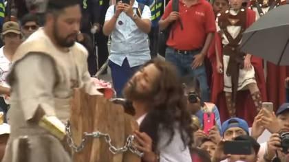 La Pasión de Cristo en Iztapalapa se celebrará a puerta cerrada este 2020 y se transmitirá vía streaming (Foto: Youtube/ COSSIAC)