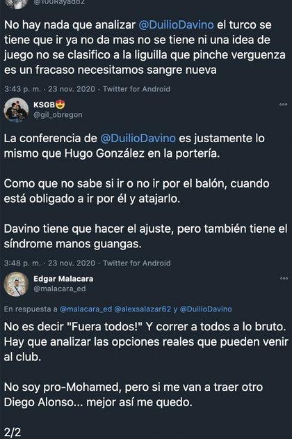 Twitter Tulio Davino (Foto: Twitter)