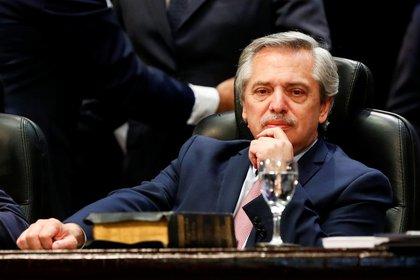 El presidente electo Alberto Fernández, pensativo durante un acto en la provincia de Tucumán (Foto: Reuters / Agustín Marcarian)