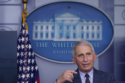 En la imagen, el principal epidemiólogo del Gobierno de Estados Unidos, Anthony Fauci. EFE/Chris Kleponis/Archivo