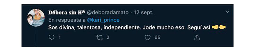 Karina La Princesita fue criticada y recibió el apoyo de varios famosos