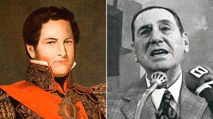 Juan Manuel de Rosas-Juan Domingo Perón