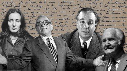Los papeles privados y manuscritos de autores como Idea Vilariño, Gabo García Márquez, Jorge Luis Borges y Carlos Fuentes se encuentran en universidades estadounidenses