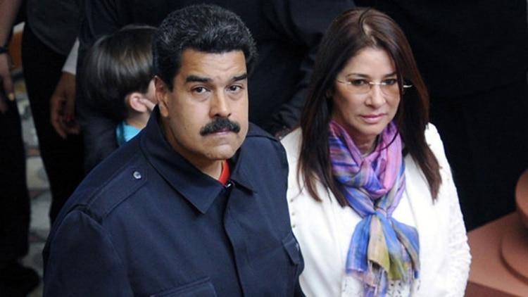 EEUU sancionó a los tres hijos de Cilia Flores, esposa de Nicolás Maduro