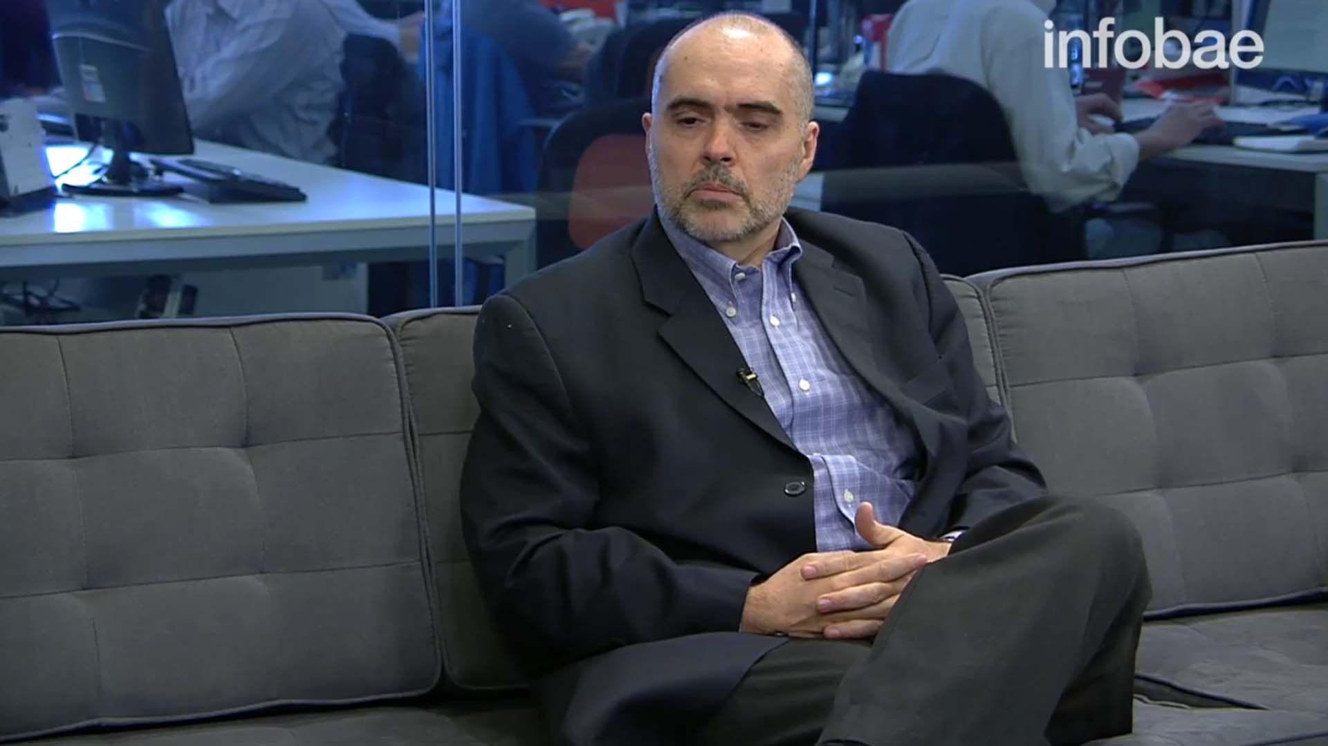Eduardo Bertoni, el anterior director de la Agencia de Acceso a la Información Pública, quien renunció a partir de 1ro de enero de 2020, cuando aún le quedaba más de un año y medio de mandato