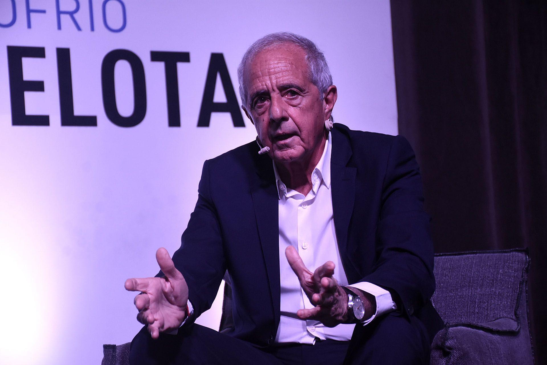 Rodolfo Donofrio, presidente de River (Nicolás Stulberg)