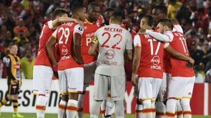 El presidente del club Independiente de Santa Fe se desentendió del problema