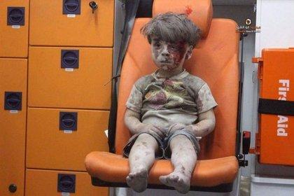 Omran, el niño sirio de 5 años que conmovió al mundo