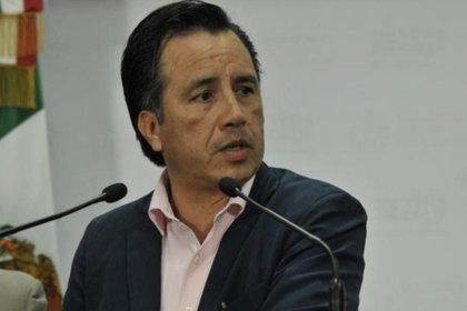 Cuitláhuac García Jiménez, gouverneur de Veracruz (Photo: Twitter)