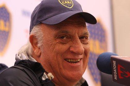 Basile habló sobre Boca, en particular la situación que atraviesa su amigo Miguel Ángel Russo (FotoBaires).