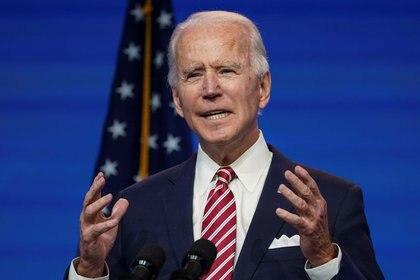 Joe Biden, presidente electo de Estados Unidos (REUTERS/Kevin Lamarque)