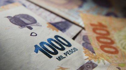 El billete de más alta denominación vale USD 14 al tipo de cambio oficial y USD 8 al tipo de cambio paralelo  (Adrián Escandar)