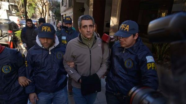 Roberto Baratta quedó detenido por el escándalo de las coimas (Gustavo Gavotti)