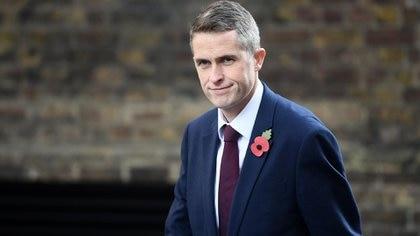 Gavin Williamson, ministro de Defensa del Reino Unido (Photo by Carl Court/Getty Images)