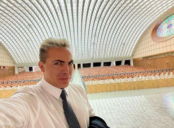 Cristian Castro a través de su cuenta de Instagram compartió imágenes sobre su concierto en el Vaticano Foto: Instagram: @cristiancastroi