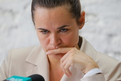 La candidata opositora Svetlana Tikhanouskaya se declaró vencedora e instó a Lukashenko a ceder el poder (Reuters)