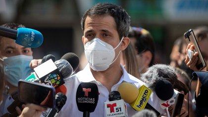 El líder opositor venezolano Juan Guaidó. EFE/ Rayner Peña R./Archivo
