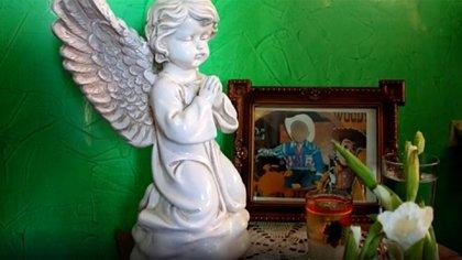 """""""Cristo"""" fue desangrado y utilizado en un ritual satánico (Foto: Captura de pantalla)"""