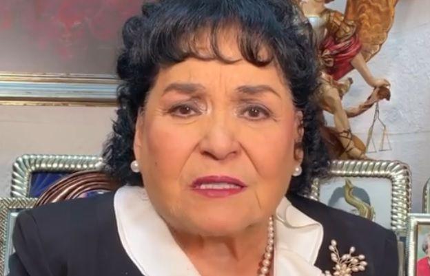 Carmen Salinas robo sobrino CDMX mascarilla