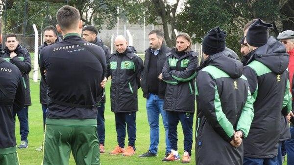 Sebastián Beccacece rescindió con la Selección y regresó a Defensa y Justicia