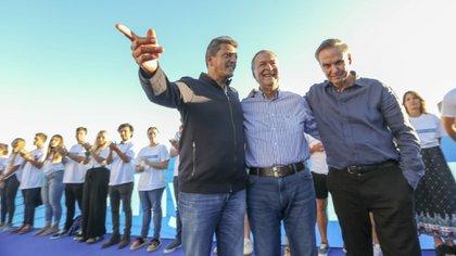 Sergio Massa, Juan Schiaretti y Miguel Pichetto