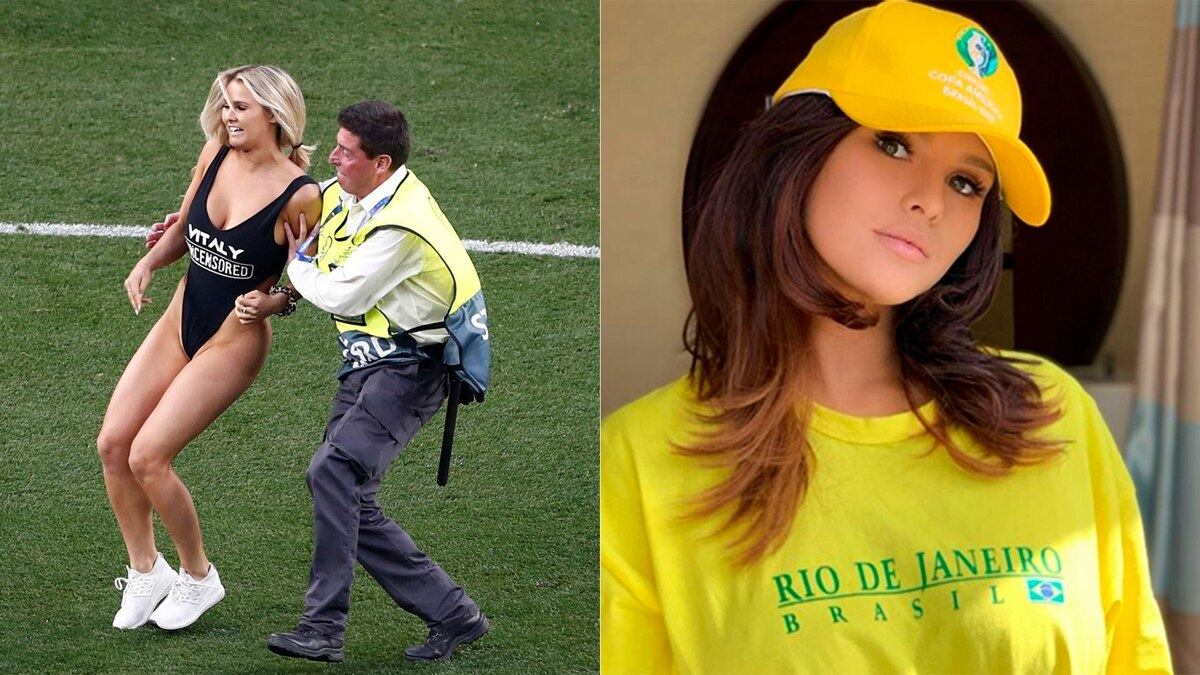 The woman who broke into the Champions League final wanted