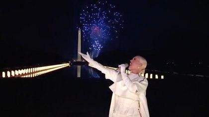Katy Perry en el Celebrating America (Foto: AFP)