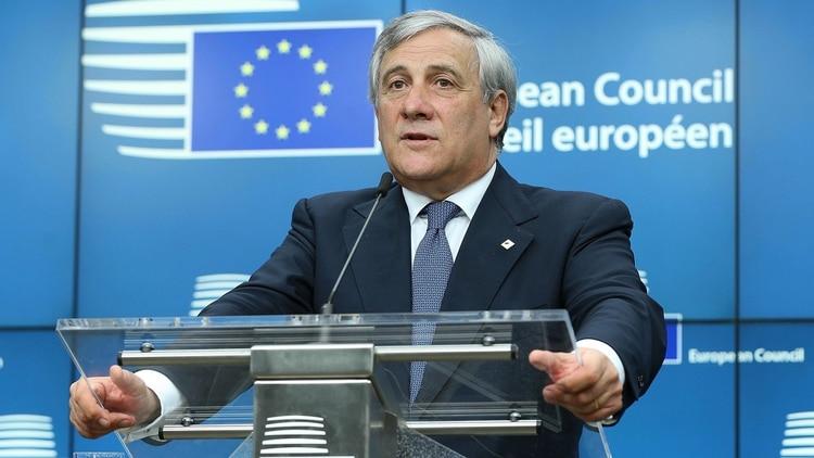Antonio Tajani, presidente del Parlamento Europeo (Getty Images)
