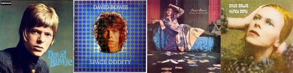 Sus primeros cuatro discos