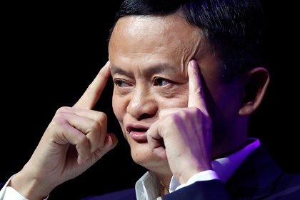 El fundador de Alibaba durante una conferencia empresaria en París en 2019 (Reuters/ Charles Platiau/ archivo)