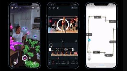 El iPhone 12 tiene tecnología LiDAR
