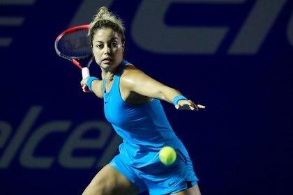 Renata Zarazua tuvo una gran actuación en el Abierto Mexicano de Tenis (Foto: Henry Romero/ Reuters)