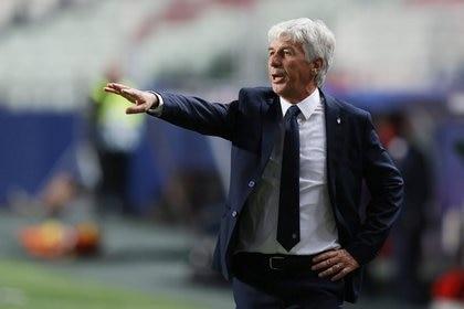 Gian Piero Gasperini, entrenador del Atalanta (Reuters)