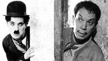 Charles Chaplin admiraba a Cantinflas (Foto: Archivo)