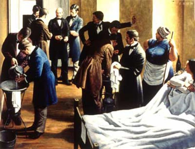 La mortalidad en su sección cayó al 0,23% a las pocas semanas. Semmelweis no sabía nada sobre las bacterias y el secreto de la asepsia, que se descubriría 30 años después