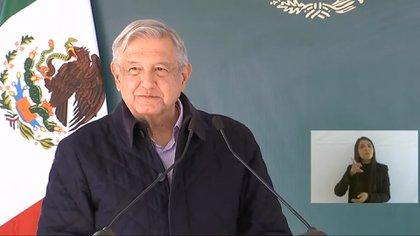 López Obrador también aseguró que ya estaba pasando la crisis sanitaria por el Covid-19 que hasta el momento ha dejado más de 104 mil muertos.