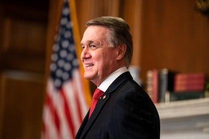 Senador David Perdue. Anna Moneymaker/Pool via REUTERS