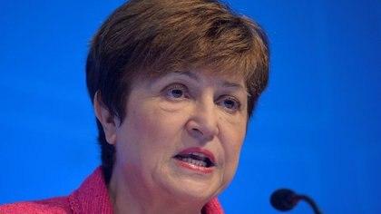 El gobierno pone sus esperanzas en la directora general del Fondo Monetario Internacional (FMI), Kristalina Georgieva