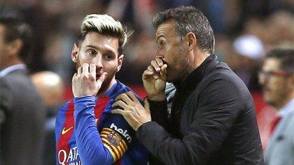 Lionel Messi ganó la Champions League bajo el ala de Luis Enrique en la temporada 2014/15.