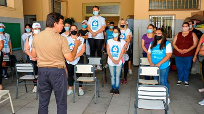 La Matanza otorgó una suba salarial histórica del 32% para sus empleados municipales (Municipio La Matanza)