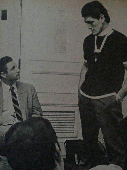 Ernesto Cherquis Bialo y Oscar Ringo Bonavena (Archivo Maximiliano Roldán)