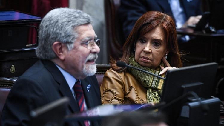 """Marcelo Fuentes (FPV) alertó sobre el """"uso de los jueces para una persecución política"""" (Charly Diaz Azcue / Comunicacion Senado)"""