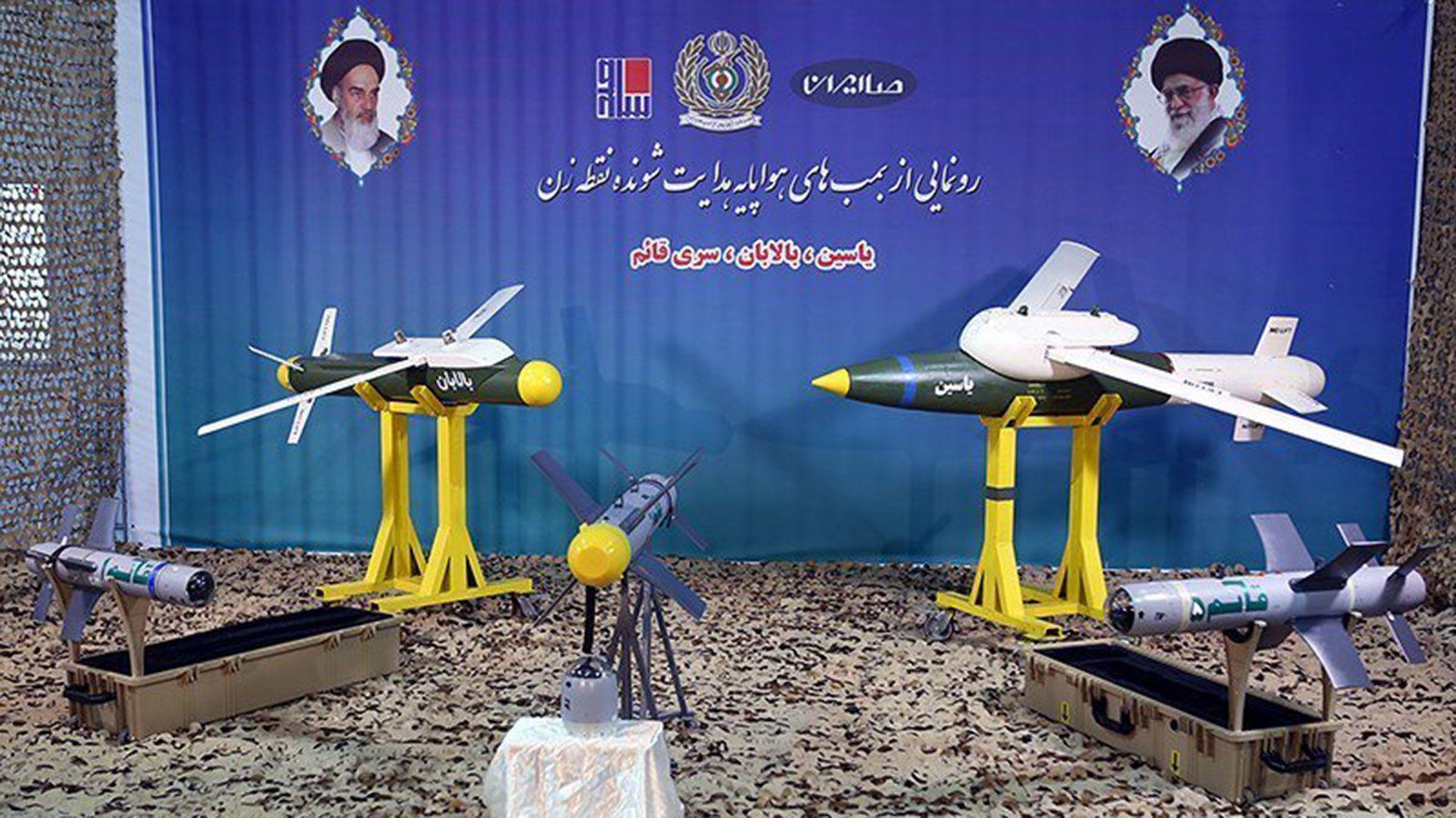 Irán presentó nuevas bombas inteligentes (@Iran)