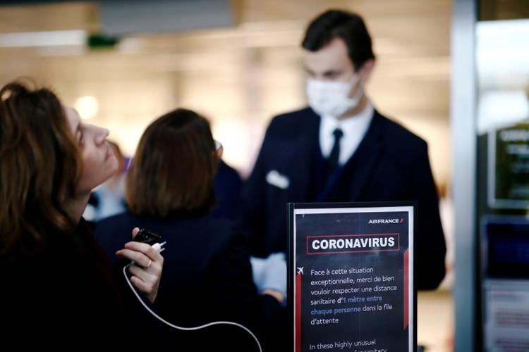 Se implementarán protocolos de seguridad e higiene en todos los vuelos (REUTERS/Benoit Tessier/File Photo)