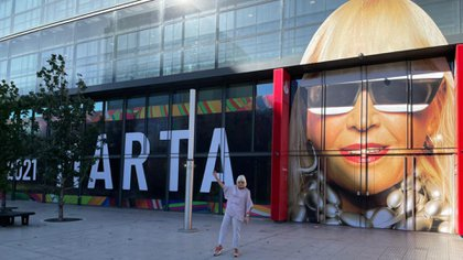 Marta Minujín llega la Fundación Santander a partir del 8 de abril